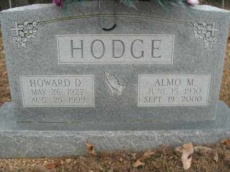 HODGE, ALMO M. - Boone County, Arkansas | ALMO M. HODGE - Arkansas Gravestone Photos
