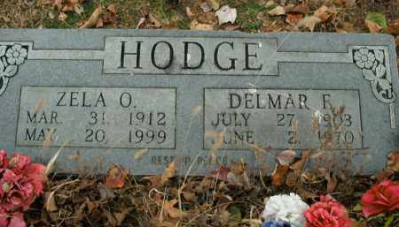 HODGE, ZELA O. - Boone County, Arkansas | ZELA O. HODGE - Arkansas Gravestone Photos