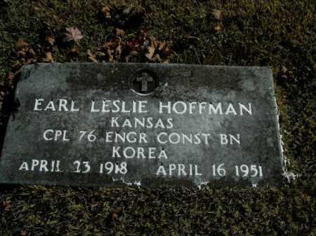 HOFFMAN  (VETERAN KOR), EARL LESLIE - Boone County, Arkansas | EARL LESLIE HOFFMAN  (VETERAN KOR) - Arkansas Gravestone Photos