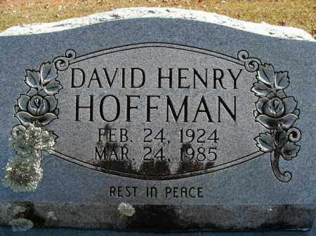 HOFFMAN, DAVID HENRY - Boone County, Arkansas | DAVID HENRY HOFFMAN - Arkansas Gravestone Photos