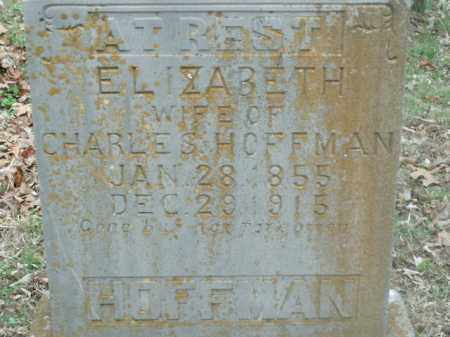HOFFMAN, ELIZABETH - Boone County, Arkansas | ELIZABETH HOFFMAN - Arkansas Gravestone Photos