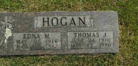 HOGAN, EDNA M. - Boone County, Arkansas | EDNA M. HOGAN - Arkansas Gravestone Photos