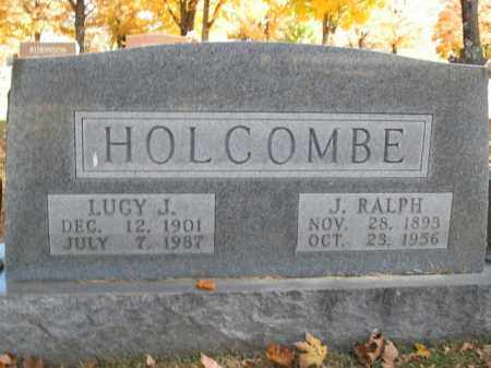 HOLCOMBE, LUCY J. - Boone County, Arkansas | LUCY J. HOLCOMBE - Arkansas Gravestone Photos
