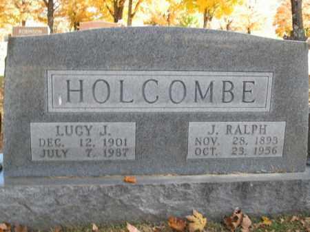 HOLCOMBE, J. RALPH - Boone County, Arkansas | J. RALPH HOLCOMBE - Arkansas Gravestone Photos
