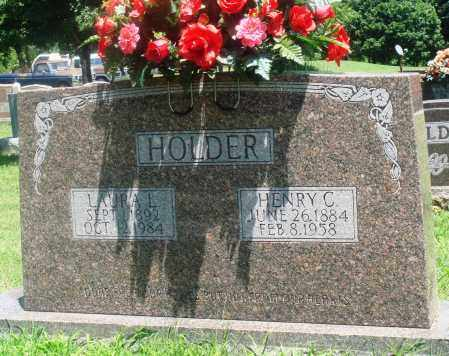 HOLDER, HENRY CARROLL - Boone County, Arkansas | HENRY CARROLL HOLDER - Arkansas Gravestone Photos