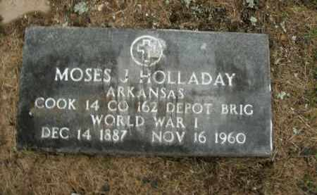HOLLADAY  (VETERAN WWI), MOSES J - Boone County, Arkansas | MOSES J HOLLADAY  (VETERAN WWI) - Arkansas Gravestone Photos