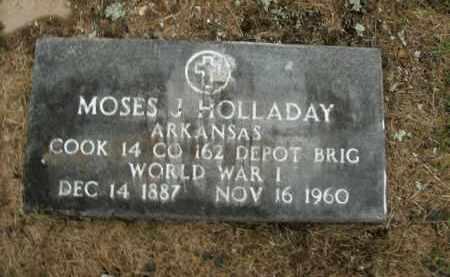 HOLLADAY  (VETERAN WWI), MOSES JOSHUA - Boone County, Arkansas | MOSES JOSHUA HOLLADAY  (VETERAN WWI) - Arkansas Gravestone Photos