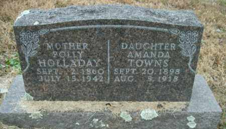 HOLLADAY, POLLY - Boone County, Arkansas | POLLY HOLLADAY - Arkansas Gravestone Photos