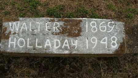 HOLLADAY, WALTER - Boone County, Arkansas | WALTER HOLLADAY - Arkansas Gravestone Photos