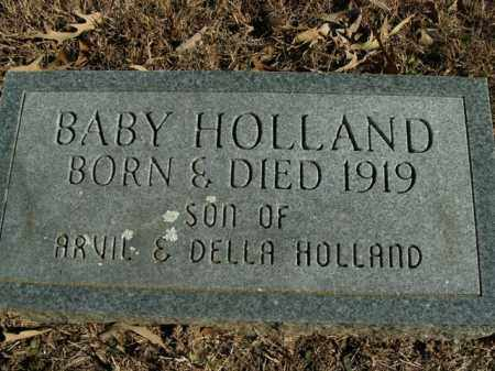 HOLLAND, BABY - Boone County, Arkansas | BABY HOLLAND - Arkansas Gravestone Photos