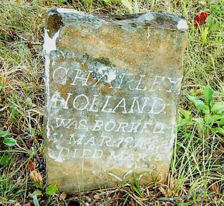 HOLLAND, CHARLEY - Boone County, Arkansas | CHARLEY HOLLAND - Arkansas Gravestone Photos