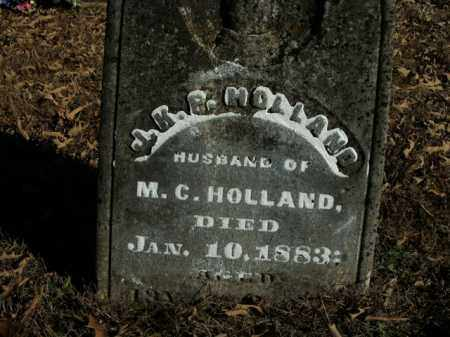 HOLLAND, JAMES K. POLK - Boone County, Arkansas | JAMES K. POLK HOLLAND - Arkansas Gravestone Photos