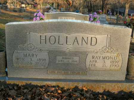 HOLLAND, RAYMOND - Boone County, Arkansas | RAYMOND HOLLAND - Arkansas Gravestone Photos