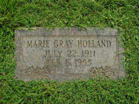 GRAY HOLLAND, MARIE - Boone County, Arkansas | MARIE GRAY HOLLAND - Arkansas Gravestone Photos