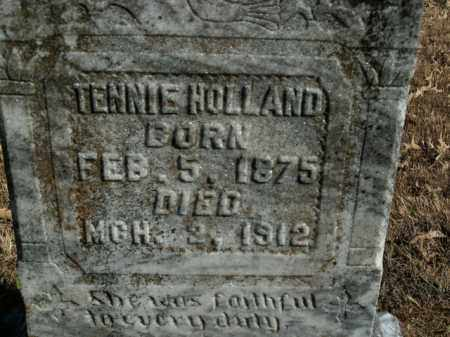 HOLLAND, MARY TENNESSEE (TENNIE) - Boone County, Arkansas | MARY TENNESSEE (TENNIE) HOLLAND - Arkansas Gravestone Photos