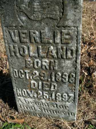 HOLLAND, VERLIE - Boone County, Arkansas | VERLIE HOLLAND - Arkansas Gravestone Photos