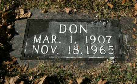 HOLLIDAY, DON - Boone County, Arkansas | DON HOLLIDAY - Arkansas Gravestone Photos