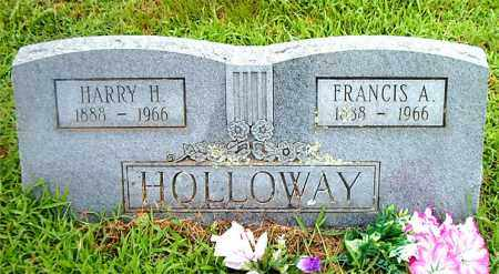 HOLLOWAY, HARRY H. - Boone County, Arkansas | HARRY H. HOLLOWAY - Arkansas Gravestone Photos