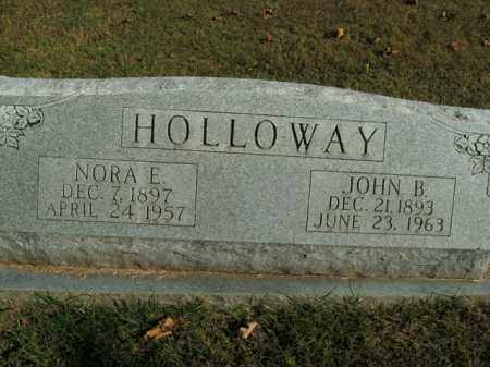 HOLLOWAY, NORA E. - Boone County, Arkansas | NORA E. HOLLOWAY - Arkansas Gravestone Photos