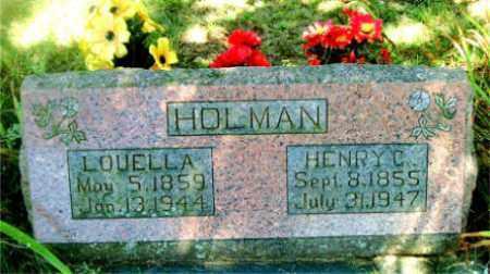 HOLMAN, HENRY  C. - Boone County, Arkansas | HENRY  C. HOLMAN - Arkansas Gravestone Photos