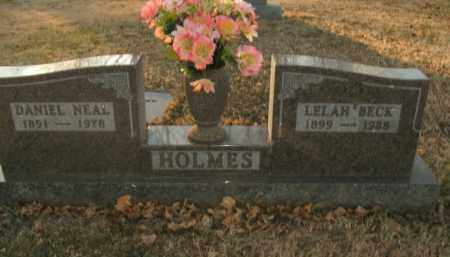 BECK HOLMES, LELAH - Boone County, Arkansas | LELAH BECK HOLMES - Arkansas Gravestone Photos