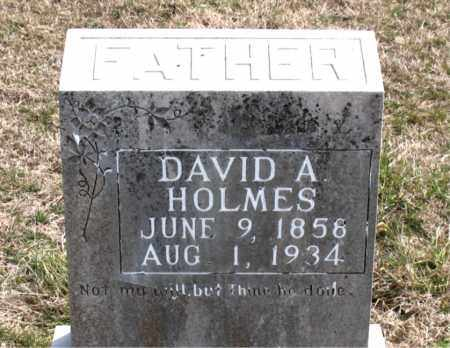 HOLMES, DAVID  A. - Boone County, Arkansas | DAVID  A. HOLMES - Arkansas Gravestone Photos
