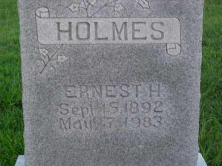 HOLMES, ERNEST H. - Boone County, Arkansas | ERNEST H. HOLMES - Arkansas Gravestone Photos