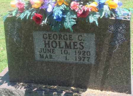 HOLMES, GEORGE C - Boone County, Arkansas | GEORGE C HOLMES - Arkansas Gravestone Photos