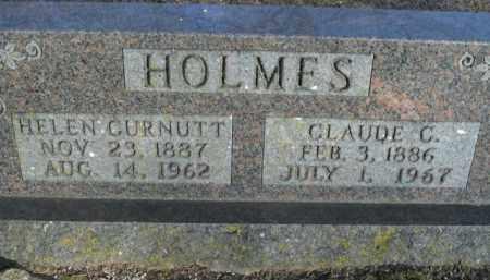 HOLMES, CLAUDE C. - Boone County, Arkansas | CLAUDE C. HOLMES - Arkansas Gravestone Photos