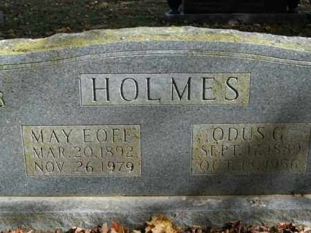 EOFF HOLMES, MAY - Boone County, Arkansas | MAY EOFF HOLMES - Arkansas Gravestone Photos