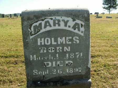 HOLMES, MARY A. - Boone County, Arkansas | MARY A. HOLMES - Arkansas Gravestone Photos