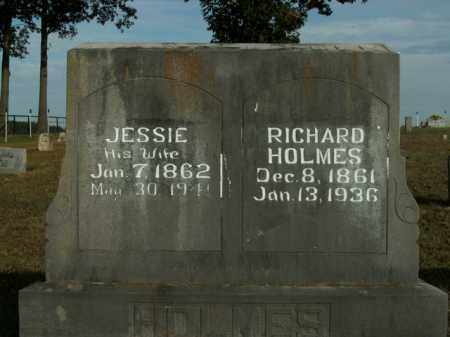 "HOLMES, JR, MOSES CARPENTER ""RICHARD"" - Boone County, Arkansas 