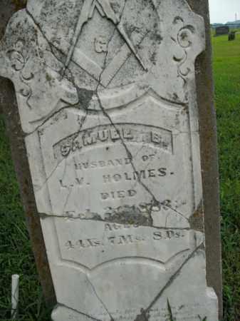 HOLMES, SAMUEL B. - Boone County, Arkansas | SAMUEL B. HOLMES - Arkansas Gravestone Photos