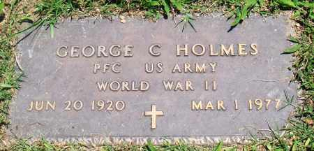 HOLMES (VETERAN WWII), GEORGE C - Boone County, Arkansas | GEORGE C HOLMES (VETERAN WWII) - Arkansas Gravestone Photos