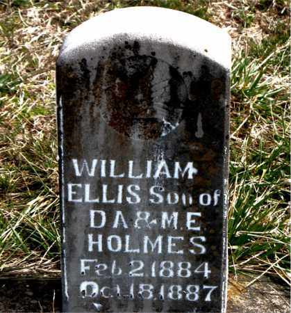 HOLMES, WILLIAM ELLIS - Boone County, Arkansas | WILLIAM ELLIS HOLMES - Arkansas Gravestone Photos
