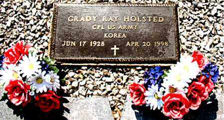 HOLSTED  (VETERAN KOR), GRADY RAY - Boone County, Arkansas | GRADY RAY HOLSTED  (VETERAN KOR) - Arkansas Gravestone Photos