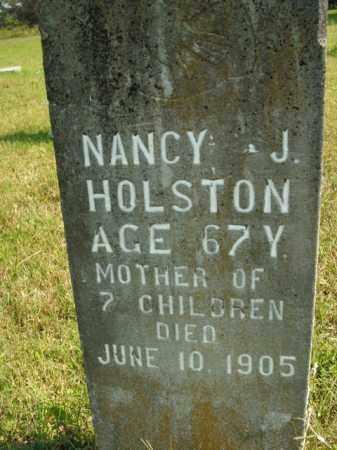 HOLSTON, NANCY J. - Boone County, Arkansas | NANCY J. HOLSTON - Arkansas Gravestone Photos