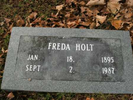 HOLT, FREDA - Boone County, Arkansas | FREDA HOLT - Arkansas Gravestone Photos