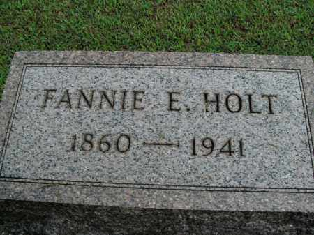 HOLT, FANNIE E. - Boone County, Arkansas | FANNIE E. HOLT - Arkansas Gravestone Photos