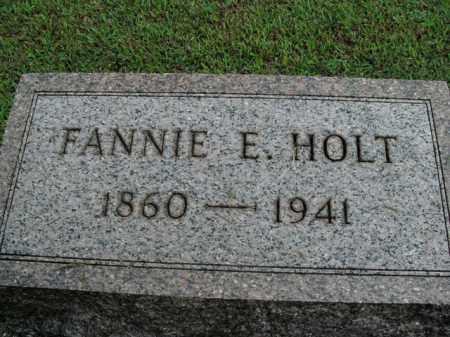 HOLT, FANNIE E. - Boone County, Arkansas | FANNIE E. HOLT - Arkansas Gravestone Photos