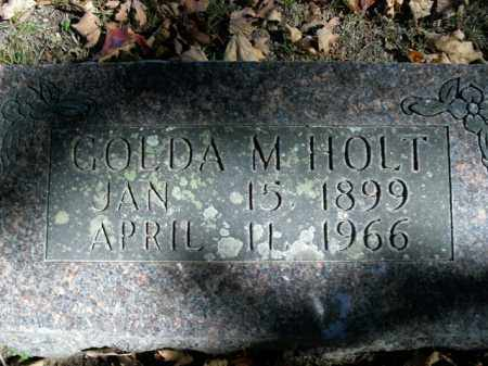 HOLT, GOLDA MAE - Boone County, Arkansas | GOLDA MAE HOLT - Arkansas Gravestone Photos
