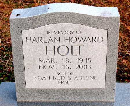 HOLT, HARLAN HOWARD - Boone County, Arkansas | HARLAN HOWARD HOLT - Arkansas Gravestone Photos