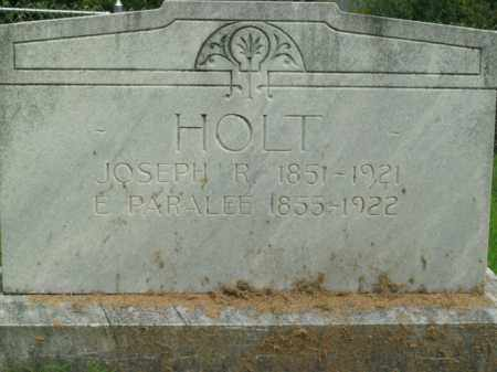 HOLT, JOSEPH RUTHERFORD - Boone County, Arkansas | JOSEPH RUTHERFORD HOLT - Arkansas Gravestone Photos
