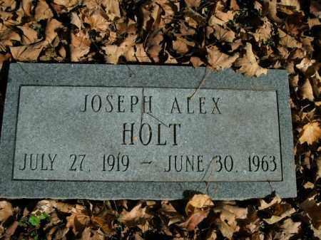 HOLT, JOSEPH ALEX - Boone County, Arkansas | JOSEPH ALEX HOLT - Arkansas Gravestone Photos