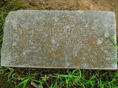 HOLT, LIZZIE - Boone County, Arkansas | LIZZIE HOLT - Arkansas Gravestone Photos