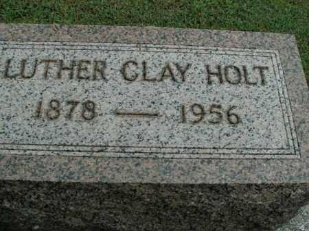 HOLT, LUTHER CLAY - Boone County, Arkansas | LUTHER CLAY HOLT - Arkansas Gravestone Photos