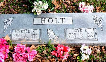 HOLT, LOYD  R. - Boone County, Arkansas | LOYD  R. HOLT - Arkansas Gravestone Photos