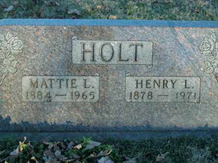 HOLT, HENRY L. - Boone County, Arkansas | HENRY L. HOLT - Arkansas Gravestone Photos