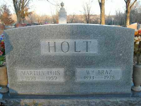 HOLT, WILLIAM BRAZ - Boone County, Arkansas | WILLIAM BRAZ HOLT - Arkansas Gravestone Photos