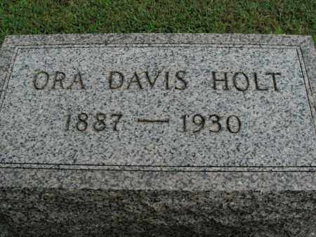 HOLT, ORA - Boone County, Arkansas | ORA HOLT - Arkansas Gravestone Photos